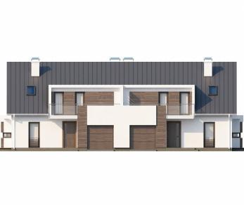 Проект дома Проект Zb6, 205.5 м2