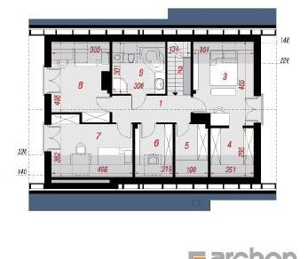 Проект  Дом Миниатюрка 2 (Н), 152.3 м2
