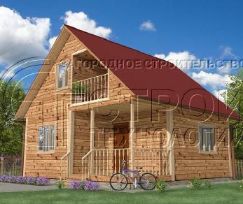 Проект дома Проект дома №19, 42 м2