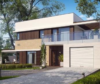 Проект дома Проект zx63, 125.9 м2
