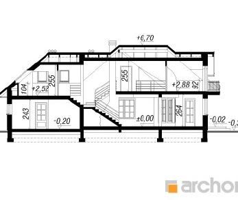 Проект  Дом в алоэ 3, 177.3 м2