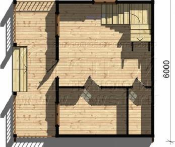 Проект дома Проект дома №65, 36 м2