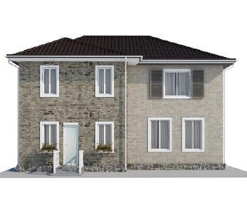 Проект дома AS-2069, 174 м2