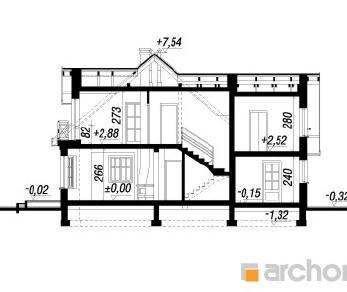 Проект  Дом в рододендронах 3 (Г), 139 м2