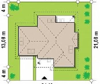 Проект дома Проект Z48, 255.9 м2