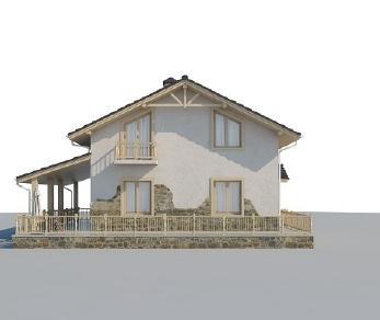 Проект дома AS-2249, 174 м2