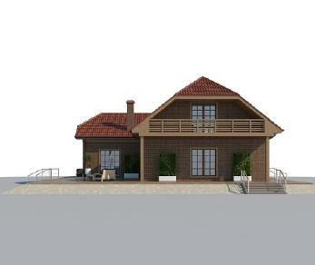 Проект дома AS-2149, 242 м2