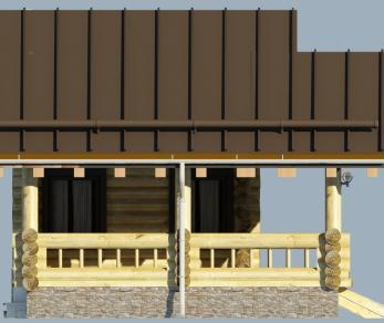 Проект  Проект бани 033/187 , 0 м2