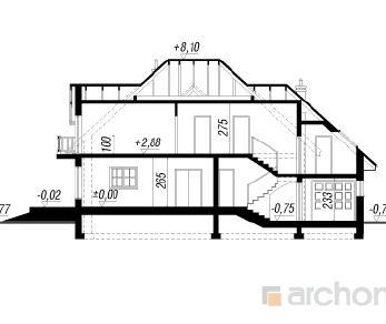 Проект  Дом в каллах, 191.9 м2