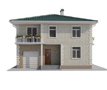 Проект дома AS-2014-2, 230 м2