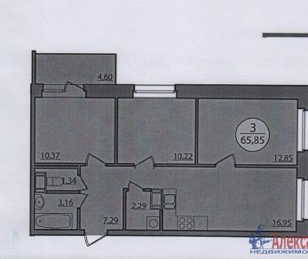 Продажа квартиры Мурино, Менделеева бул., д.1