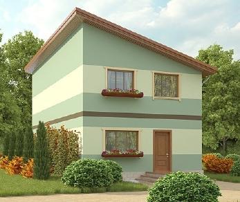 Проект дома AS-2006-2, 146 м2