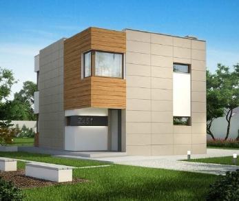 Проект дома Проект zx51, 101.9 м2