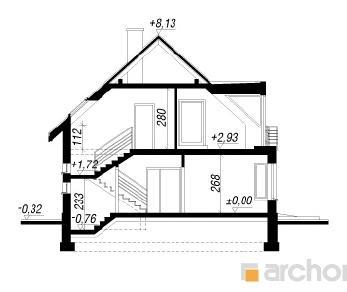 Проект  Дом под гуаявой, 171.4 м2