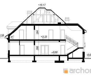 Проект  Резиденция в Мышленицах 2, 272.3 м2