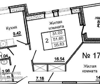 Продажа квартиры Колпино г., Ленина просп., д. 54