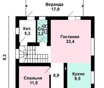 Проект дома AS-2207, 125 м2
