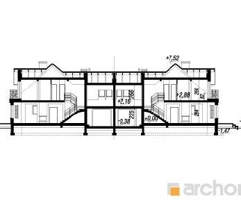 Проект  Дом в рододендронах 5 (Б), 333.4 м2