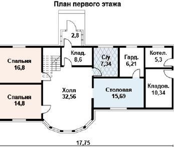 Проект дома AS-2104-2, 190 м2