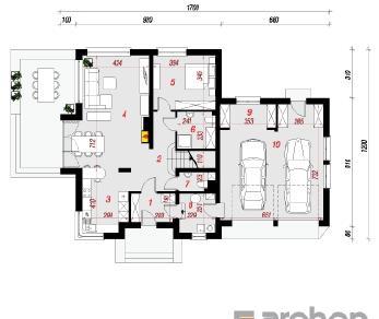 Проект  Дом в орегано (Н), 234.1 м2