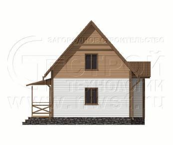 Проект дома Проект дома №116, 50 м2