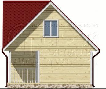 Проект дома Проект дома №67, 20 м2