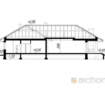 Проект  Дом в маках, 210 м2