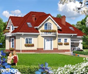 Проект  Дом в глициниях, 164.8 м2