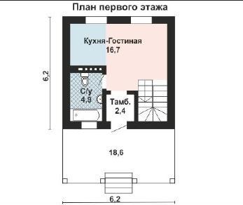 Проект дома AS-2158, 94 м2