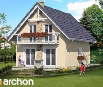 Проект  Дом в сон-траве, 83.1 м2