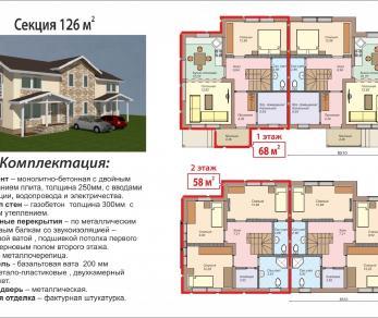 Продажа таунхауса деревня Вартемяги, ул. Софийская 14А