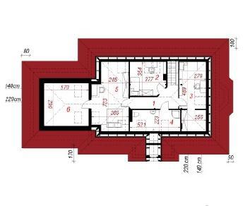 Проект  Дом под красной рябиной (Г2), 148.9 м2