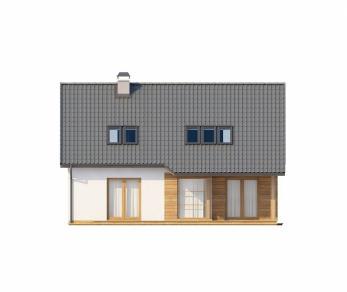 Проект дома Проект Z66, 154.4 м2