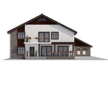 Проект дома AS-2128, 353 м2