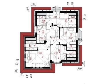 Проект  Дом в бергамотах (Г2), 208.4 м2