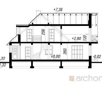 Проект  Дом на горке 4, 157 м2