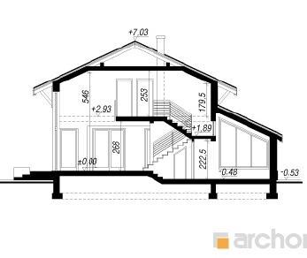 Проект  Дом под черным деревом, 218.8 м2