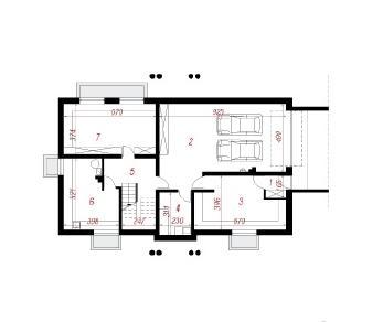 Проект  Дом под дубами 2 (Г2П), 383.2 м2