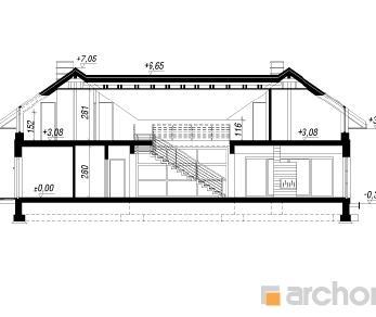 Проект  Резиденция в нертерах 2, 320.8 м2