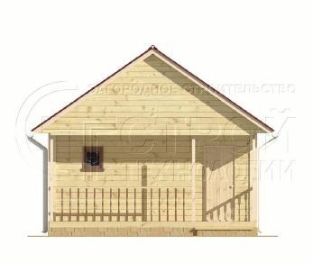 Проект бани Баня. Проект №5, 27.5 м2