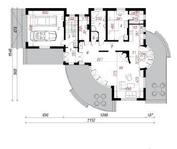 Проект  Резиденция под пихтами (Г2), 327.7 м2