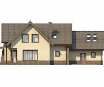 Проект дома Проект Z70, 319.1 м2