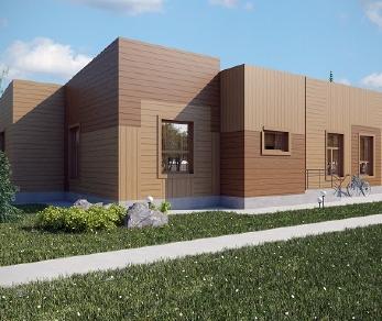 Проект дома AS-2061, 139 м2