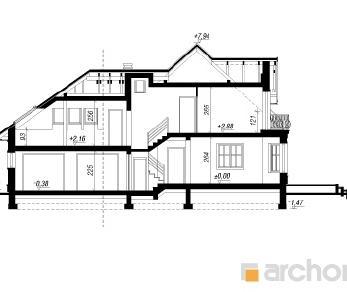Проект  Дом в тамарисках 3 (Г2), 198.2 м2