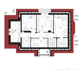 Проект  Дом в винограднике, 162 м2