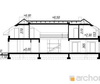 Проект  Резиденция в нертерах, 345.7 м2