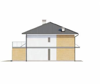 Проект дома Проект Zx7, 211.4 м2