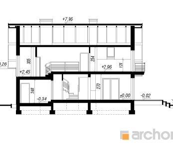 Проект  Дом в айдаредах, 156.4 м2