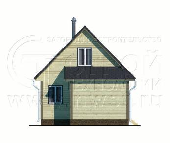 Проект дома Проект дома №48, 62 м2
