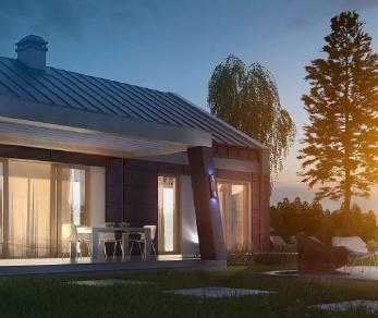 Проект дома Проект z256, 86.8 м2